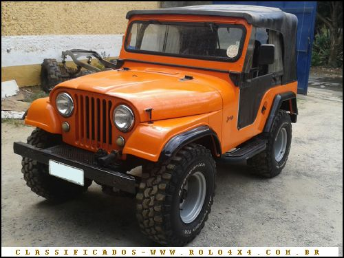 Jeep Willys Rolo 4x4 Classificados De Ve 237 Culos Off