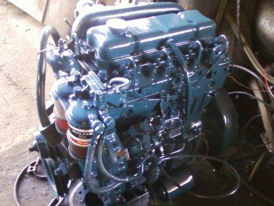 motor diesel D20 perkins