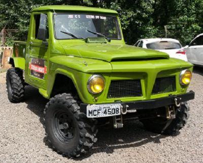 JEEP FORD F75 1973 6CC