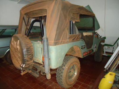 Jeep Barato. Original.