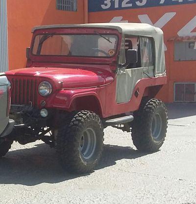 Jeep 4.1 6cc 1961 trilha