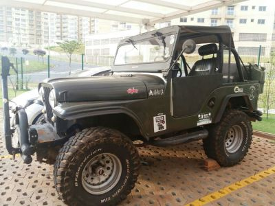 FORD JEEP WILLYS 1974