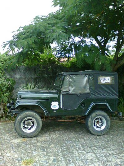 Jeep Ford 6 cilindros