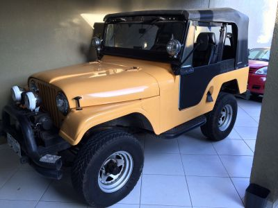 Jeep willys 6 cilindros