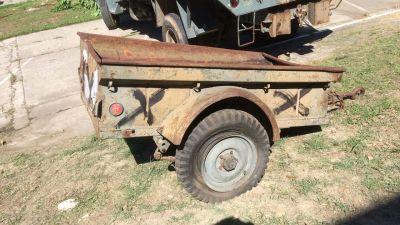 Reboque Militar Jeep 1/4t
