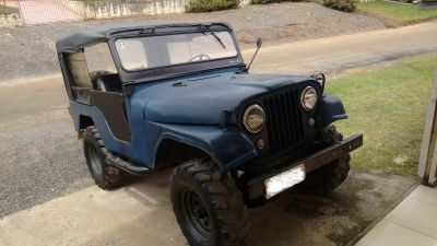 Jeep Willys CJ5 militar