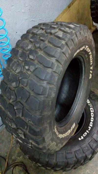 Pneus BF mud 285/70r17
