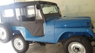 Capota jeep willys