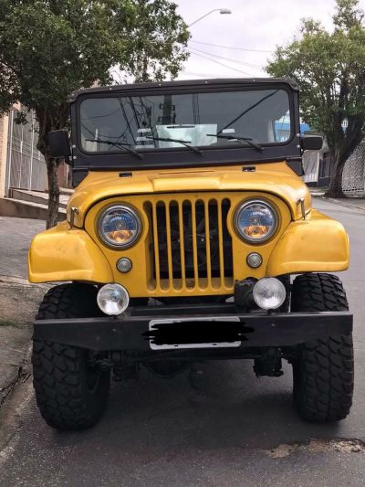 Vendo Jeep ano 1960