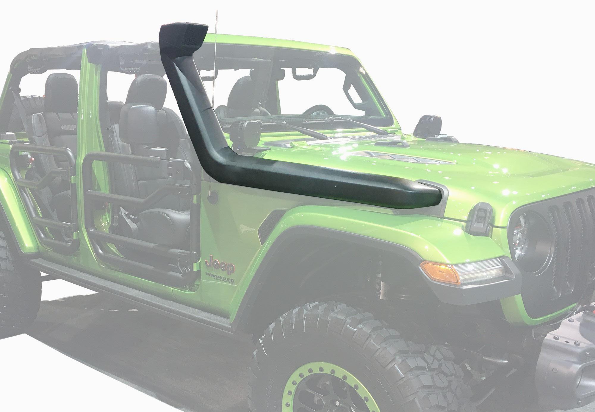 Snorkel p Jeep Wrangler